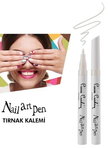 Pierre Cardin Nail Art Pen Tırnak Kalemi - Pearl White Beyaz